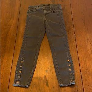 J Brand Gray Denim - Size 26 Ankle Length